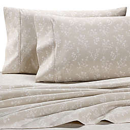 Wamsutta® PimaCott® Floral Silhouette 625-Thread-Count Standard Pillowcase Set in Ivory