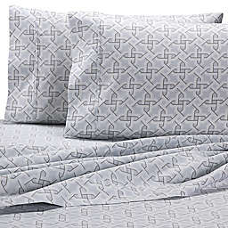 Wamsutta® Geo 625-Thread-Count PimaCott® Pillowcases in Grey (Set of 2)