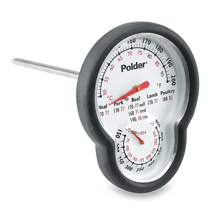 Alternate image 1 for Polder® Dual Sensor Cooking Thermometer