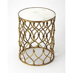 Butler Specialty Company End Table in Gold