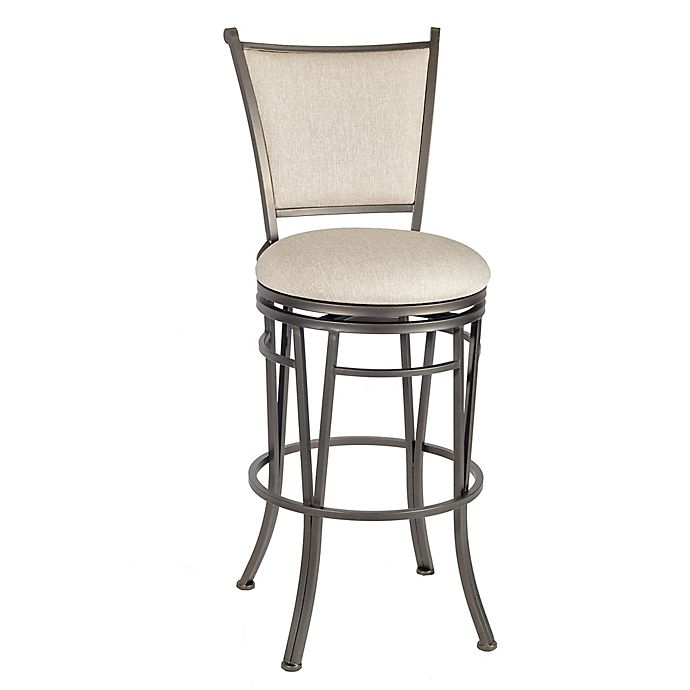 Buy Linon Home Macon Bar Stool In Brown Beige From Bed