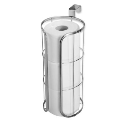 Interdesign Over The Tank 3 Roll Toilet Paper Holder Bed Bath