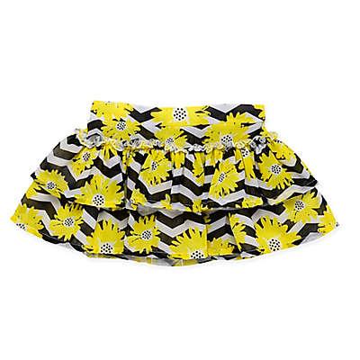 Baby Starters® Daisy Chevron Tutu in Yellow/Black