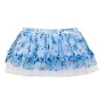 Baby Starters® Size 3M Floral Tulle Tutu in Blue