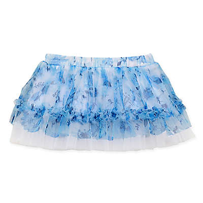Baby Starters® Floral Tulle Tutu in Blue
