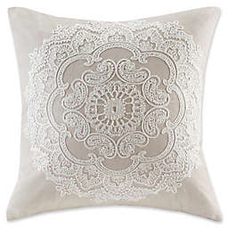 Harbor House® Suzanna 18-Inch Square Throw Pillow in Taupe
