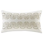 Harbor House™ Suzanna 12-Inch x 20-Inch Square Throw Pillow in White