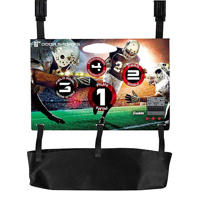 Alternate image 1 for Franklin® Sports Door Electronic Football Toss
