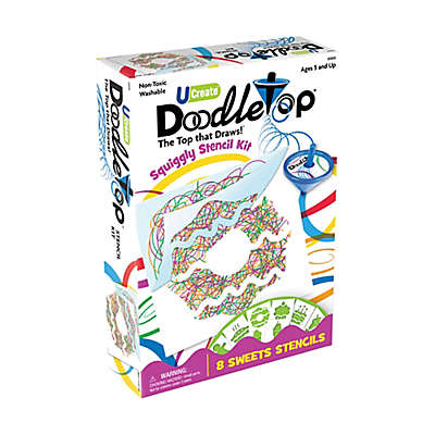 U-Create Sweets Doodletop Stencil Kit