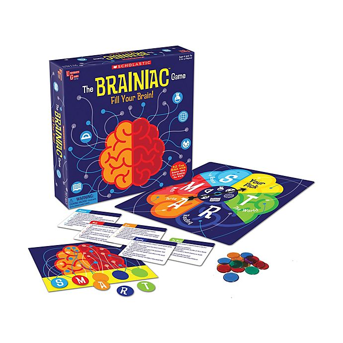Alternate image 1 for University Games Scholastic's The Brainiac Game