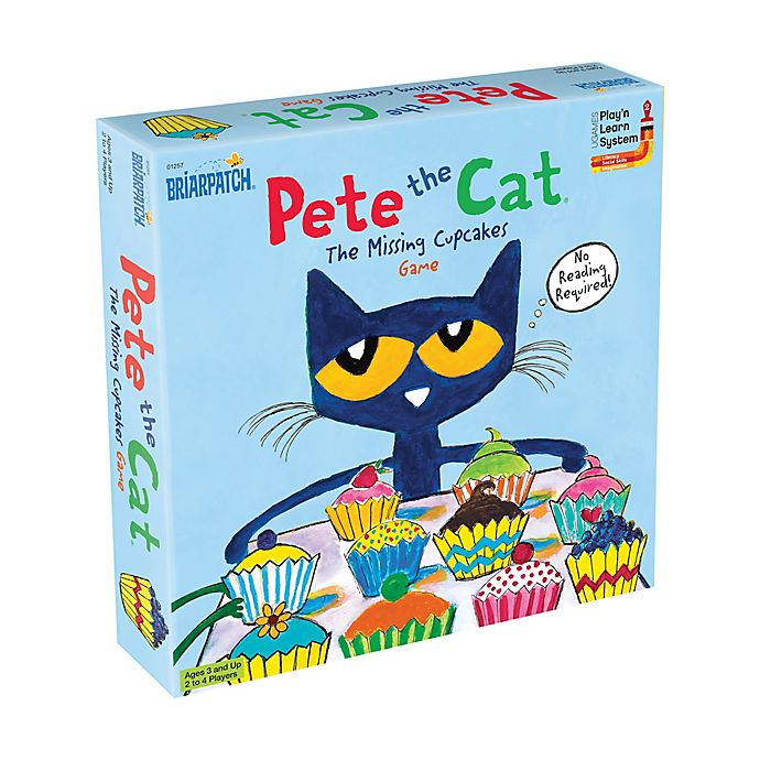 Alternate image 1 for Briarpatch Pete the Cat The Missing Cupcakes Game