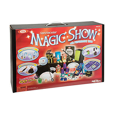 Ideal® Standard 100-Trick Spectacular Magic Show Suitcase