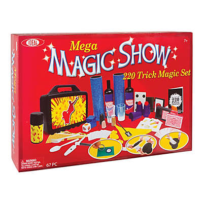 Ideal® Standard 200-Trick Mega Magic Show Set