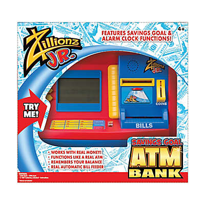 illionz® Jr. Deluxe Savings Goal ATM Bank