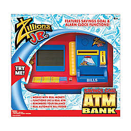 illionz® Jr. Deluxe Savings Goal ATM Bank
