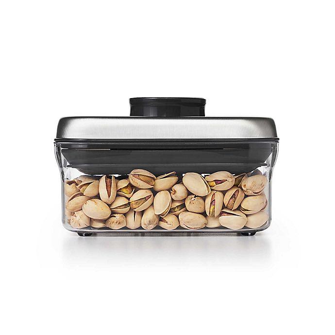 Alternate image 1 for OXO SteeL™  POP 0.5-Quart Rectangular Food Storage Container
