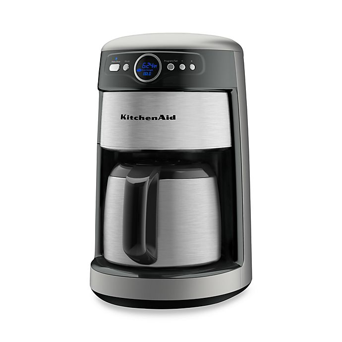 KitchenAid® 12-Cup Thermal Carafe KCM223 Coffee Maker - Contour Silver