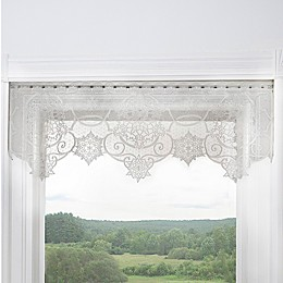 Heritage Lace® Snowflake Rod Pocket Window Valance