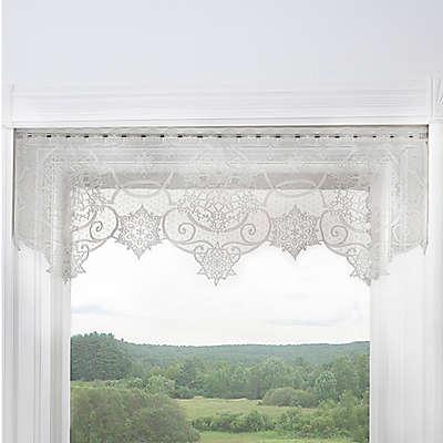 Heritage Lace® Snowflake Rod Pocket Window Valance