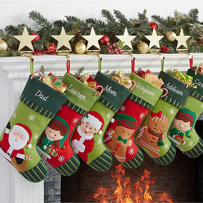 Alternate image 1 for Christmas Family Christmas Stocking Collection