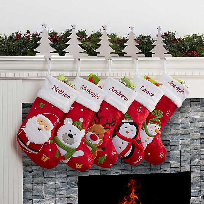 Alternate image 1 for Santa Claus Lane Christmas Stocking Collection