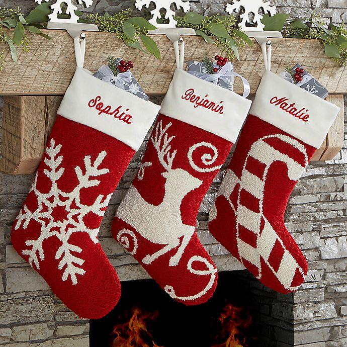 Joyful Celebrations Hooked Christmas Stocking Collection