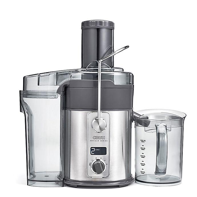 Alternate image 1 for CRUX® Artisan Series 5 Speed Digital Juice Extractor