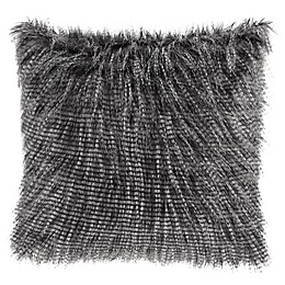 Madison Park Edina Faux Fur 20-Inch Square Throw Pillow