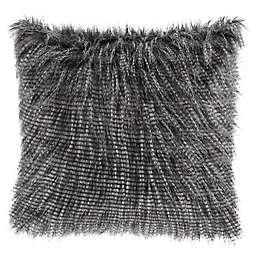 Madison Park Edina Faux Fur 20-Inch Square Throw Pillow
