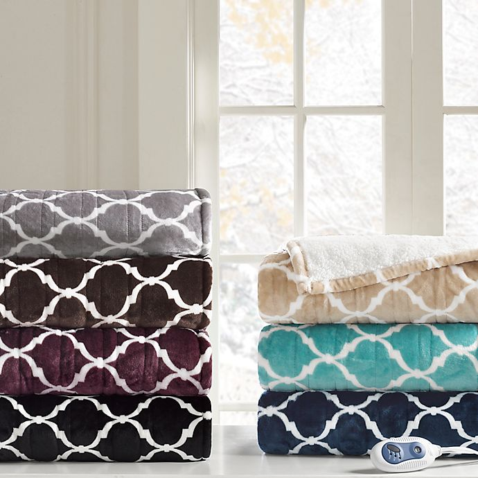 Beautyrest Ogee Heated Snuggle Wrap Bed Bath And Beyond