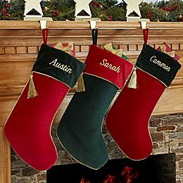 Velvet Splendor Christmas Stocking