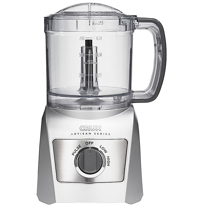 Alternate image 1 for CRUX® Artisan Series 3 Cup Food Chopper in Grey