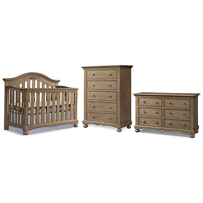 Westwood Design Meadowdale 3 Piece Nursery Furniture Bundle