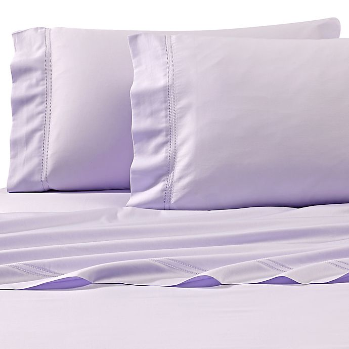 Alternate image 1 for Frette At Home Tiber Standard Pillowcase in Wisteria