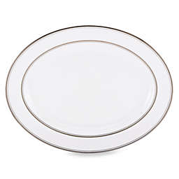 kate spade new york Library Lane Platinum™ 16-Inch Oval Platter