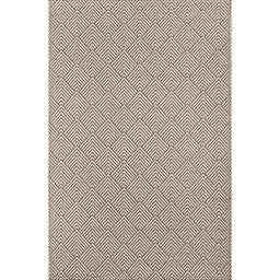 Momeni Como Geometric 3'11 x 5'7 Indoor/Outdoor Area Rug in Beige