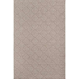 Momeni Como Geometric 7'10 x 10'10 Indoor/Outdoor Area Rug in Beige