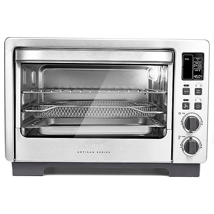 Alternate image 1 for CRUX® Artisan Series 6 Slice Digital Air Frying Toaster Oven