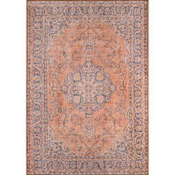 Momeni Afshar 7'6 x 9'6 Area Rug in Copper