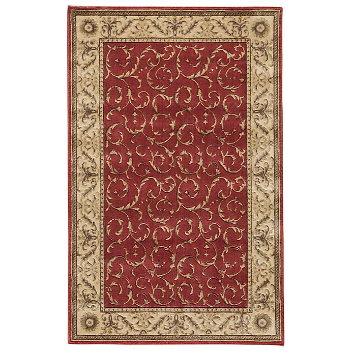 Alternate image 1 for Nourison Somerset 2' x 2'9 Accent Rug in Red