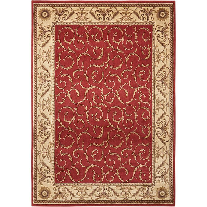 Alternate image 1 for Nourison Somerset 3'6 x 5'6 Area Rug in Red
