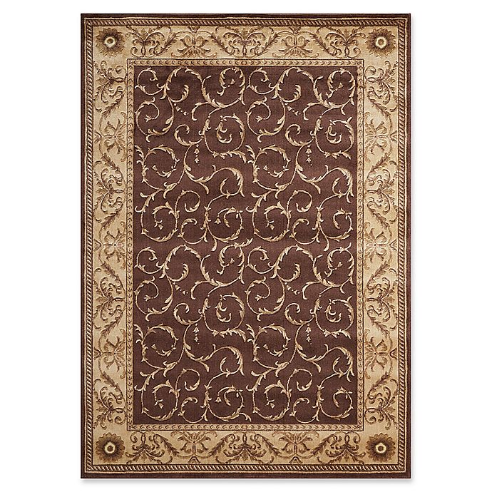 Alternate image 1 for Nourison Somerset 5'3 x 7'5 Area Rug in Brown
