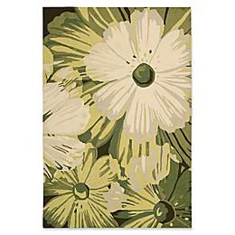 Nourison Fantasy Vibrant Floral Rug