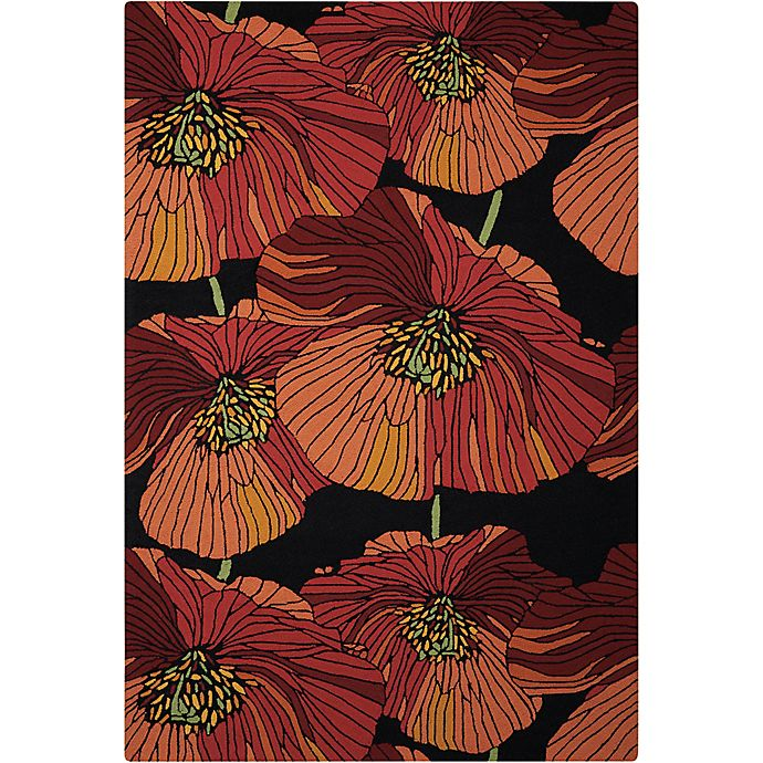 Buy Nourison Fantasy Bold Floral 30 Quot X 48 Quot Accent Rug In