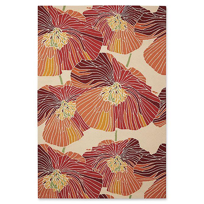 Alternate image 1 for Nourison Fantasy Bold Floral Rug