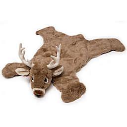 Carstens White Tail Deer Hand Woven Kids Plush Rug