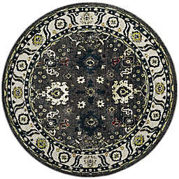 Safavieh Vintage Hamadan 6-Foot 7-Inch x 6-Foot 7-Inch Laleh Rug in Dark Grey