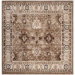 Safavieh Vintage Hamadan 6-Foot 7-Inch x 6-Foot 7-Inch Laleh Rug in Taupe