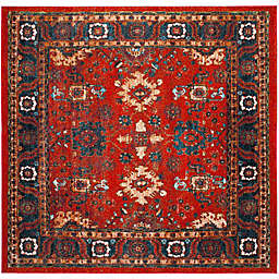 Safavieh Vintage Hamadan 6-Foot 7-Inch x 6-Foot 7-Inch Laleh Rug in Orange