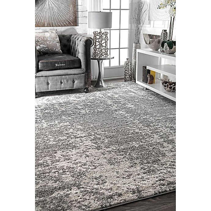 Alternate image 1 for nuLOOM Deedra Rug in Grey